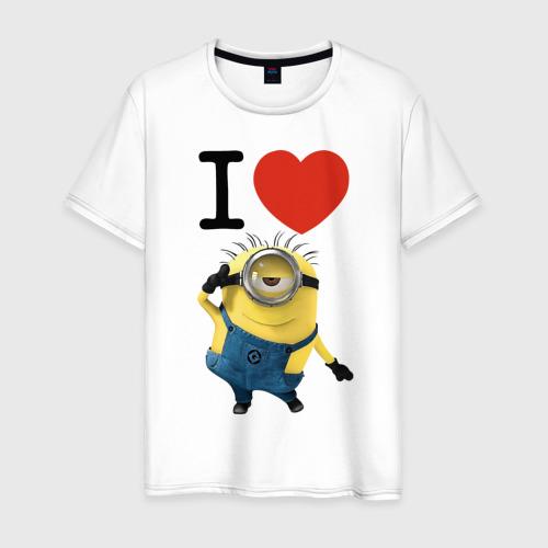 Мужская футболка хлопок Миньон 2