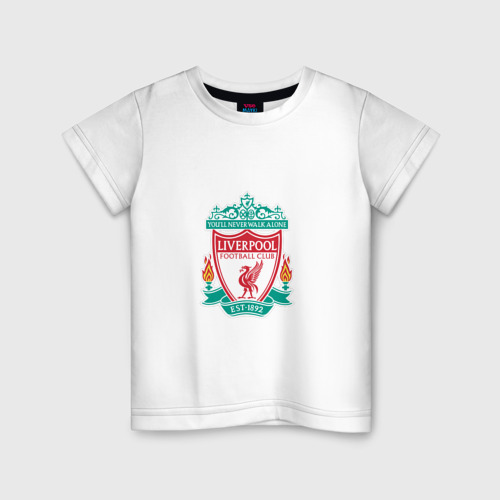 Детская футболка хлопок Ливерпуль