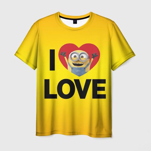 Мужская футболка 3D Миньон