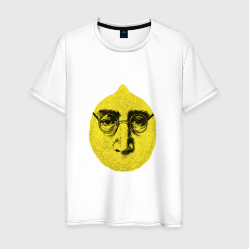 Мужская футболка хлопок John Lemon карандашем