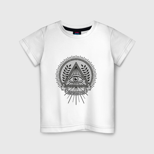 Детская футболка хлопок Новый Мировой Порядок