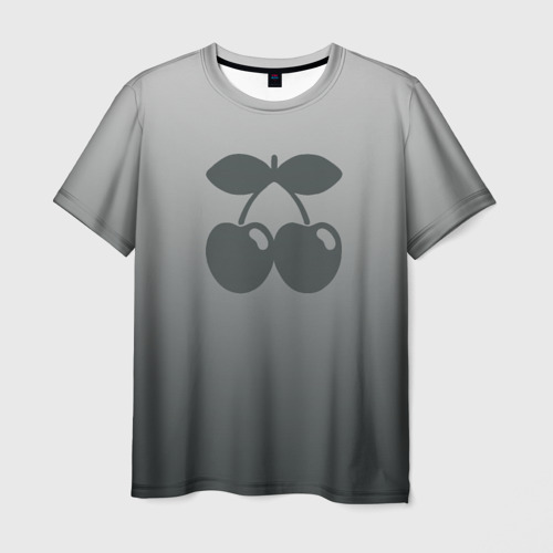 Мужская футболка 3D Pacha Ibiza Gray