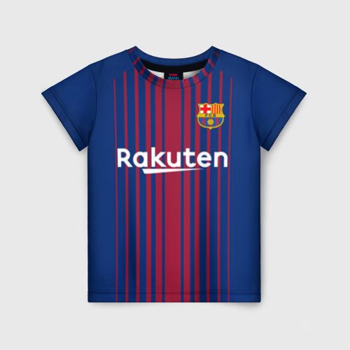 Детская футболка 3D Фк Барселона
