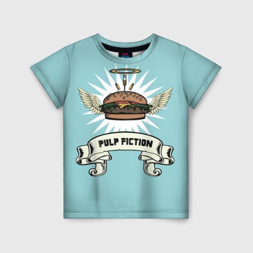 Детская футболка 3D Четвертьфунтовый чизбургер