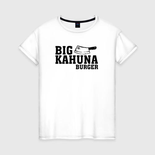 Женская футболка хлопок Big Kahuna