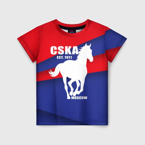 Детская футболка 3D CSKA est. 1911