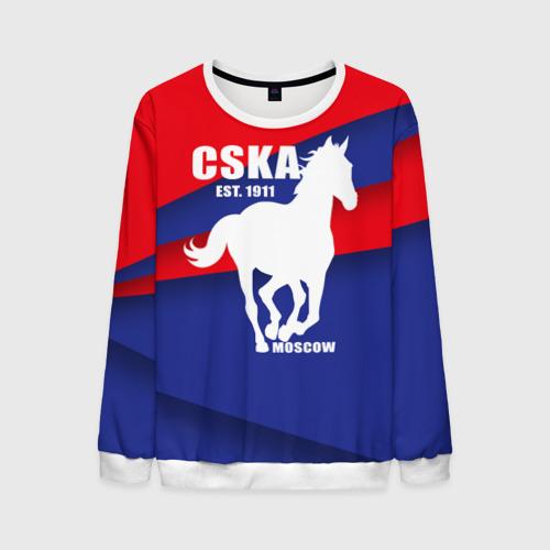 Мужской свитшот 3D CSKA est. 1911