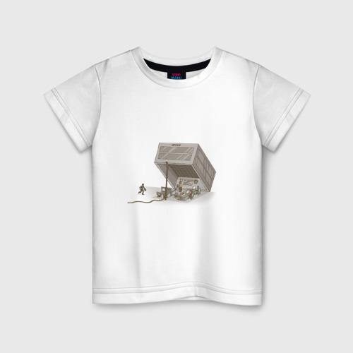 Детская футболка хлопок Офисное рабство