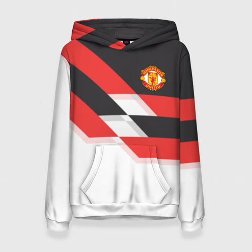 Женская толстовка 3D Manchester United - Stripe
