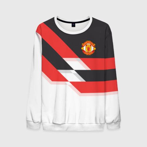 Мужской свитшот 3D Manchester United - Stripe