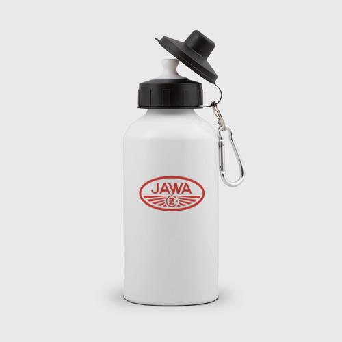 Бутылка спортивная Мотоцикл Jawa логотип