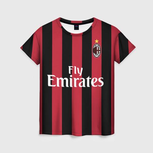 Женская футболка 3D Милан