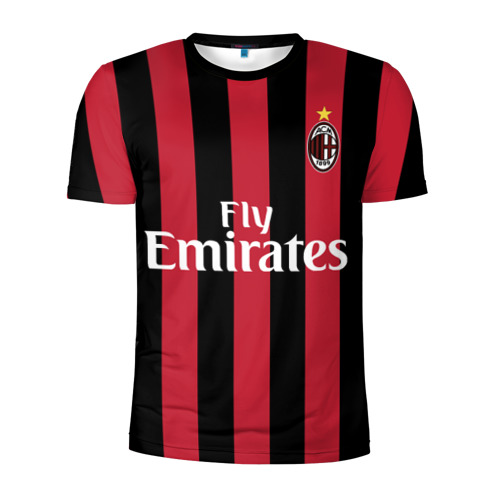 Мужская футболка 3D спортивная Милан