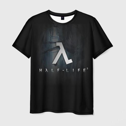 Мужская футболка 3D Half-Life 3