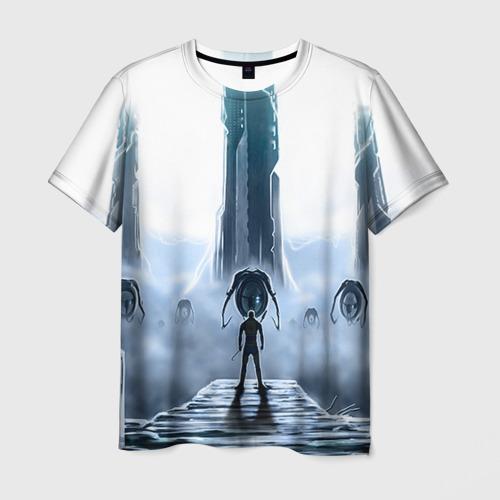 Мужская футболка 3D Half-Life