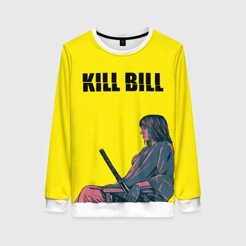Женский свитшот 3D Убить Билла