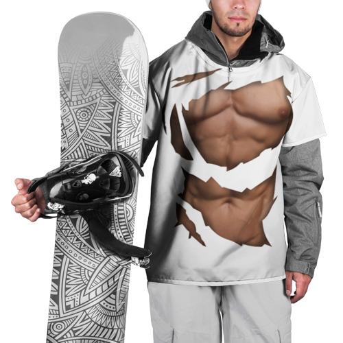 Накидка на куртку 3D Идеальный рельеф
