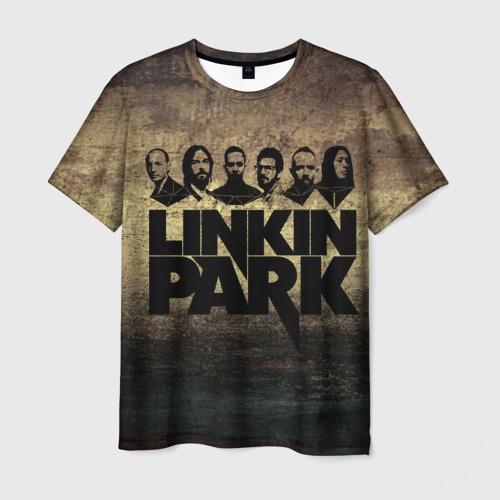 Мужская футболка 3D Linkin Park Band