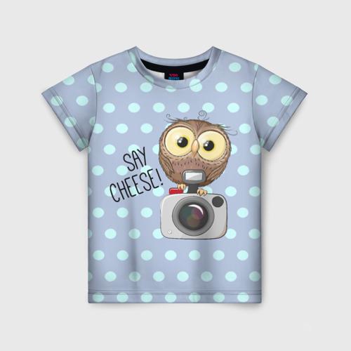 Детская футболка 3D Say CHEESE!