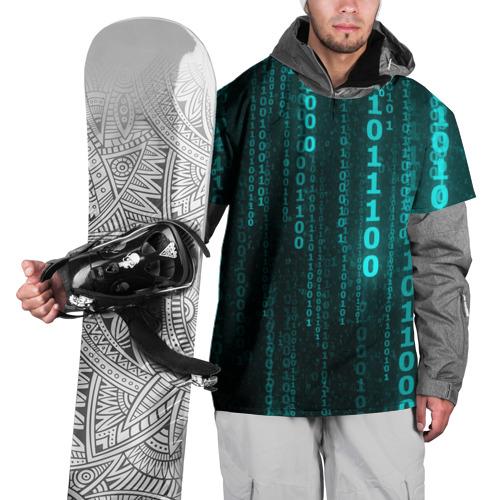 Накидка на куртку 3D Codes