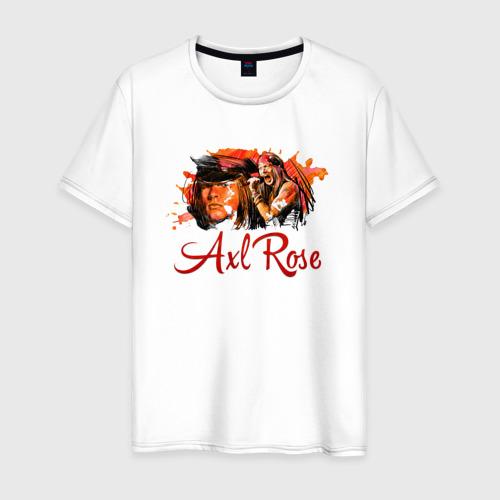 Мужская футболка хлопок Axl Rose