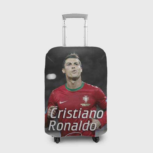 Чехол для чемодана 3D Криштиану Роналду