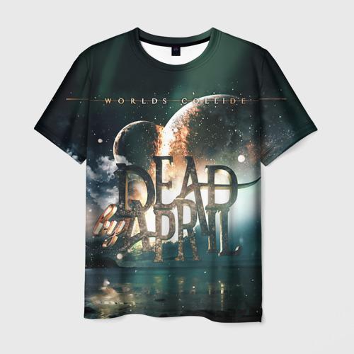 Мужская футболка 3D Dead by April