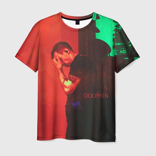Мужская футболка 3D Dolphin