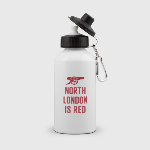 Бутылка спортивная North London is Red