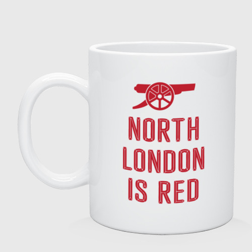 Кружка North London is Red