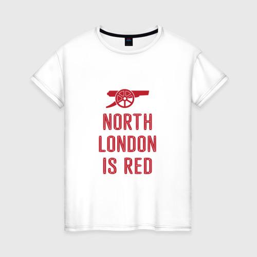 Женская футболка хлопок North London is Red