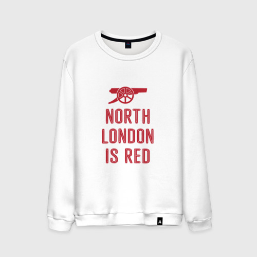 Мужской свитшот хлопок North London is Red