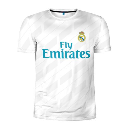 Мужская футболка 3D спортивная Real Madrid