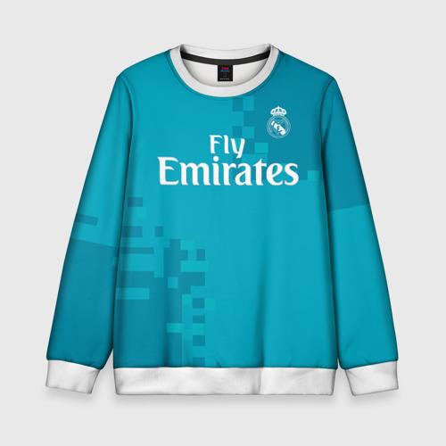 Детский свитшот 3D Real Madrid