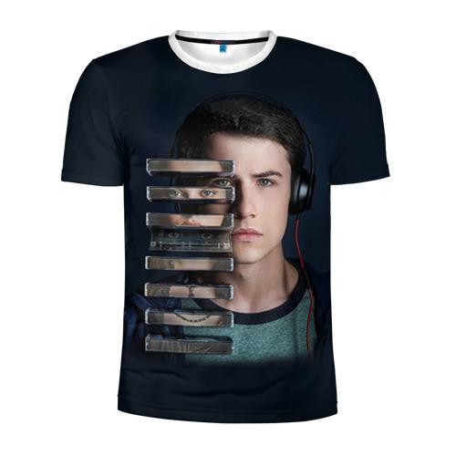 Мужская футболка 3D спортивная 13 reason why