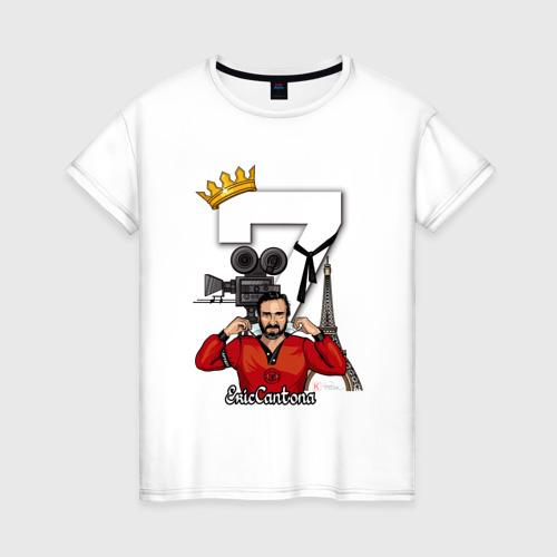 Женская футболка хлопок Король Эрик