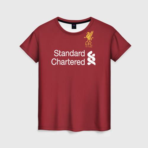Женская футболка 3D Ливерпуль