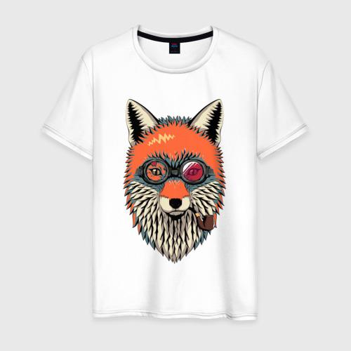 Мужская футболка хлопок хипстер лис