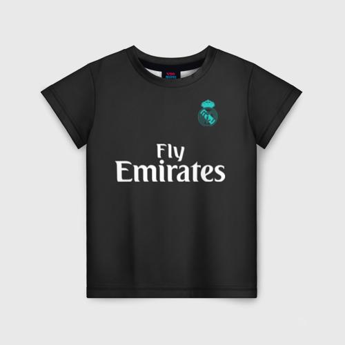 Детская футболка 3D Cristiano Ronaldo away 2018