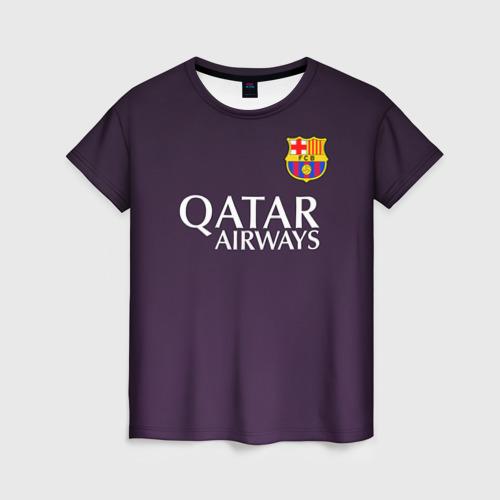 Женская футболка 3D Barcelona