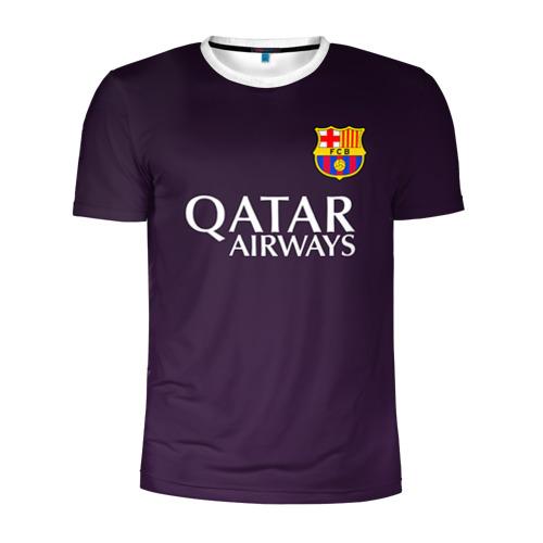 Мужская футболка 3D спортивная Barcelona