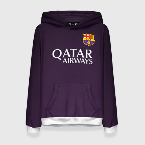 Женская толстовка 3D Barca Messi