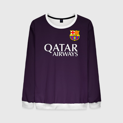 Мужской свитшот 3D Barca Messi