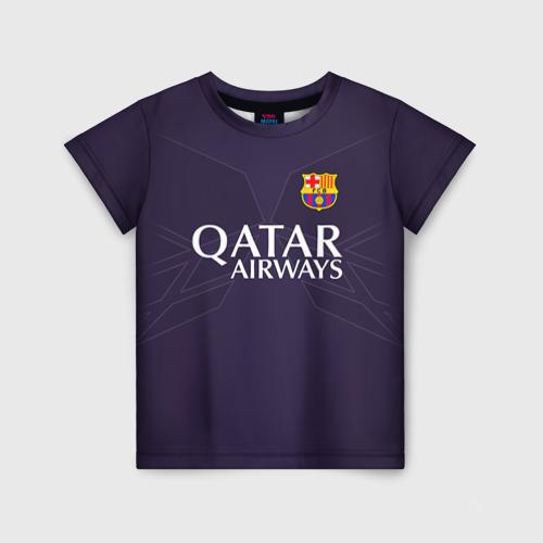 Детская футболка 3D Barca Messi 1