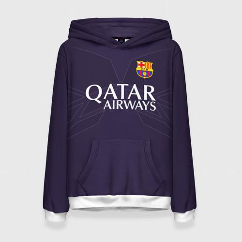 Женская толстовка 3D Barca Messi 1