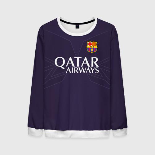 Мужской свитшот 3D Barca Messi 1