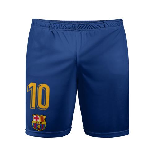 Мужские шорты спортивные Лионель Месси форма 2018