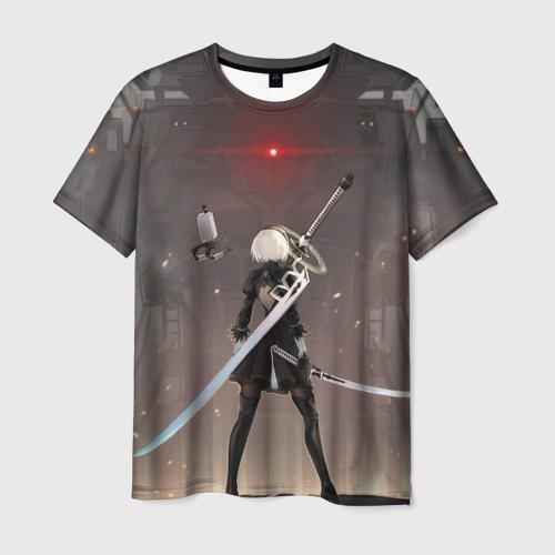 Мужская футболка 3D мечница