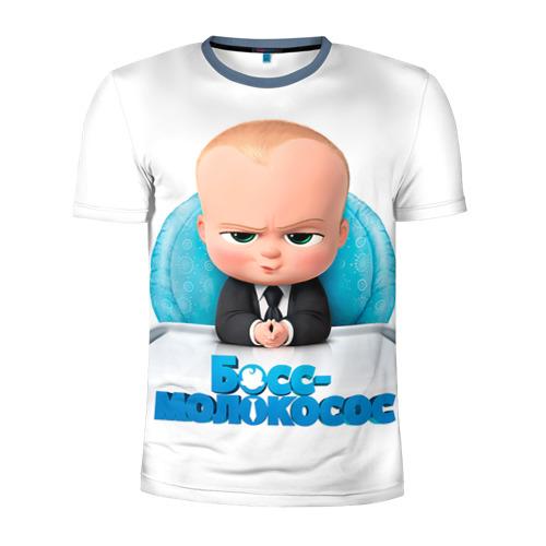 Мужская футболка 3D спортивная Boss Baby