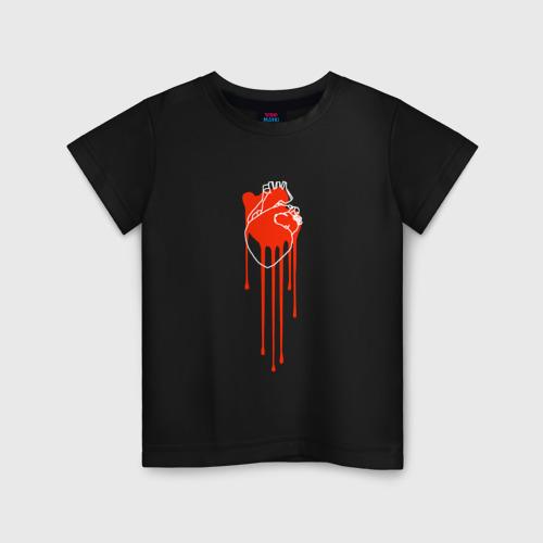 Детская футболка хлопок Живое сердце